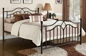 3945f1f0e3887d If you're looking for an iron bed frame with a modern yet simple design,  check out the DHP Tokyo Metal Bed.