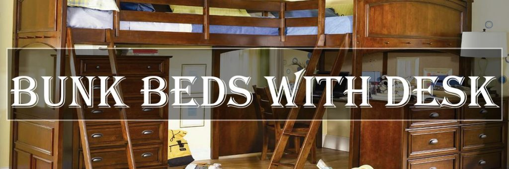 the latest 7dd72 b548f Best Loft & Bunk Beds With Desk Underneath For Kids and Adults