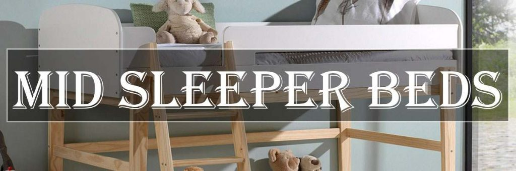 childrens mid sleeper beds