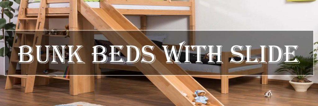 Best Bunk Loft Beds With Slide Kids Toddlers Slide Bed