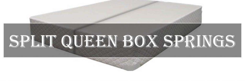 split queen box spring