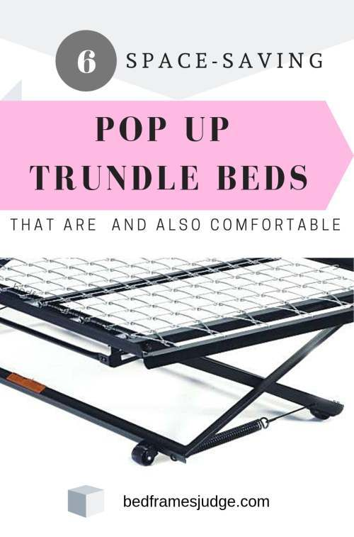 pop up trundle bed frames